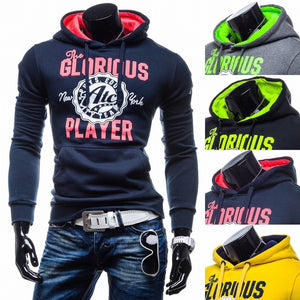Men Hoodies Long Sleeve Men Pullover