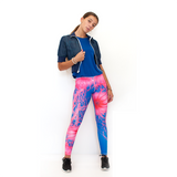 Our Most Luxurious Legging in Jellyfish Royal