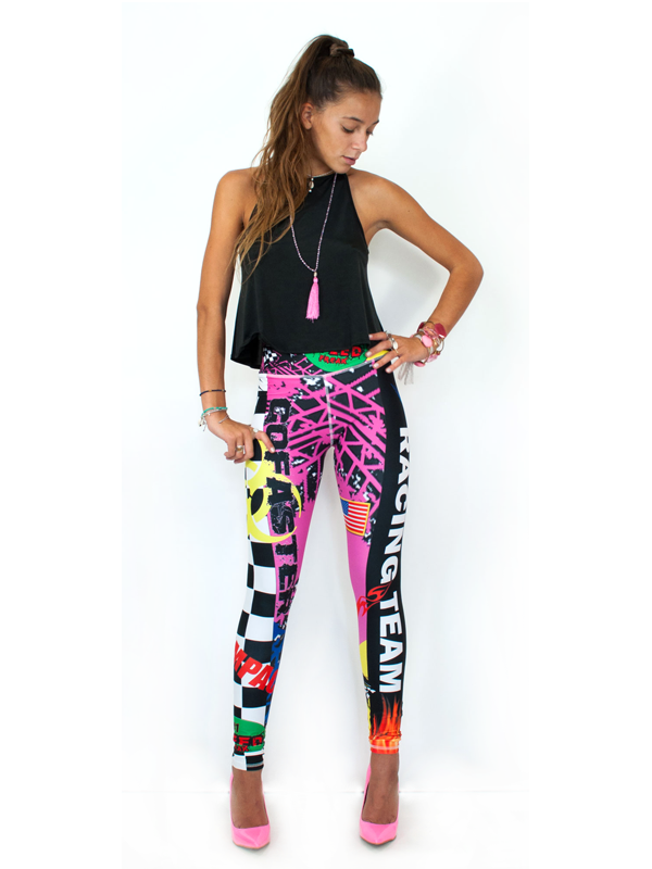 Our Most Luxurious Legging in Race Team