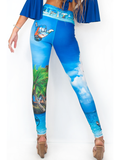 Our Most Luxurious Legging in JupLife 561 Hang Loose