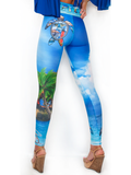 Our Most Luxurious Legging in JupLife 561 Turtle