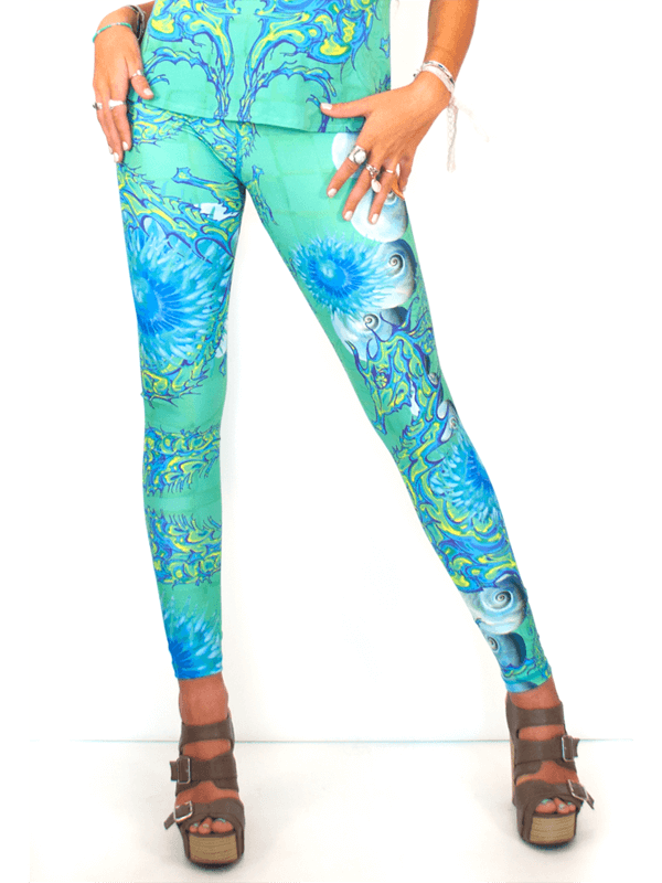 Our Most Luxurious Legging in Eden