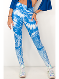 Our Most Luxurious Legging in Jellyfish Tide