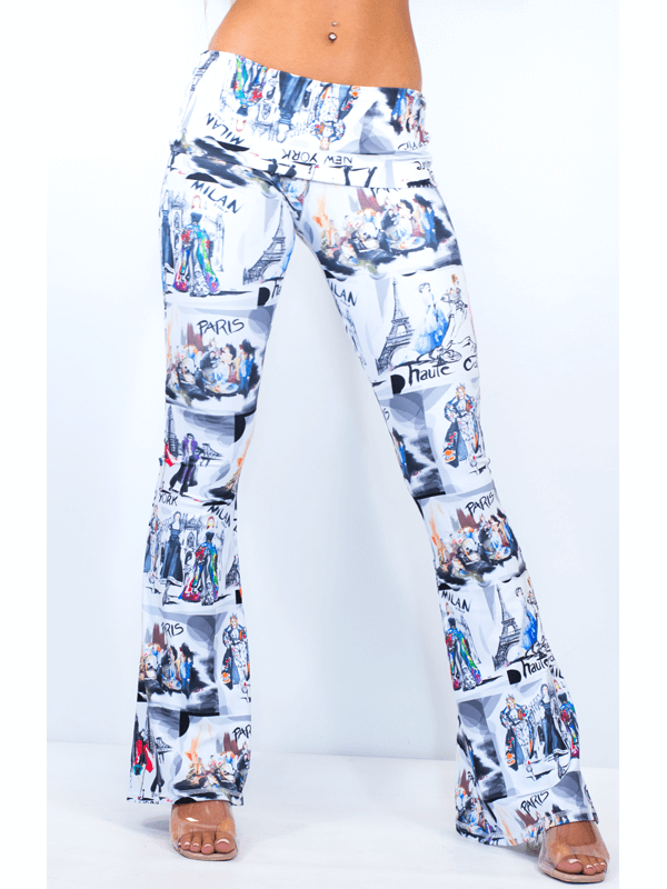 Piazza Pant UPF 50+In Fashion Print