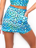 Skort in Merscale Equalized UPF 50+