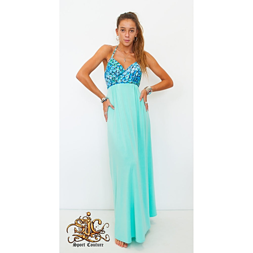 Sophia Halter Maxi Dress