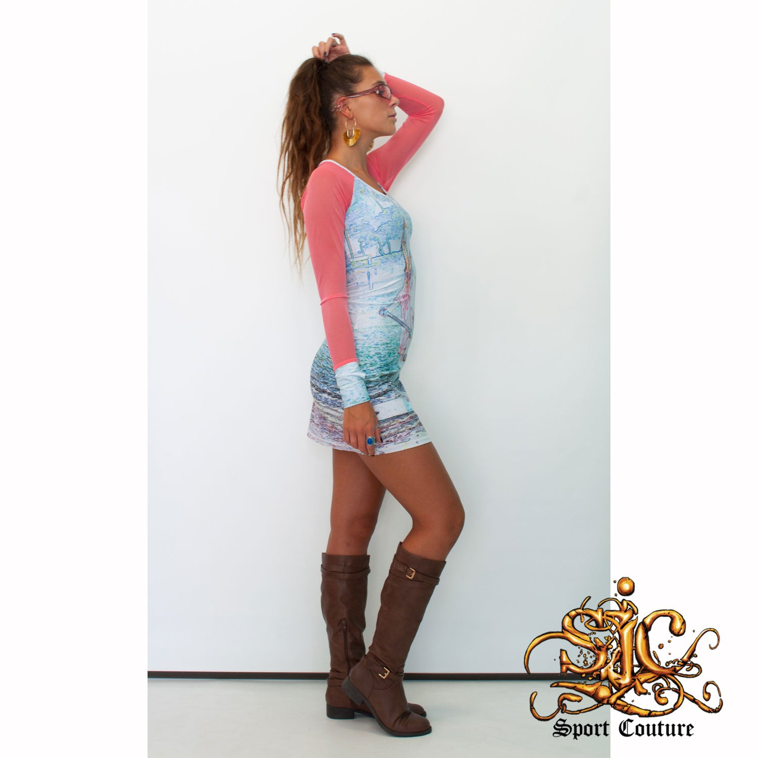 Surf Dress in SUP Girl