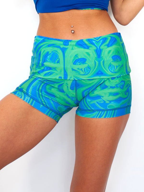 Surf Shorts in Buddha Budz
