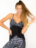 Tankini Swim Top in Night Gator