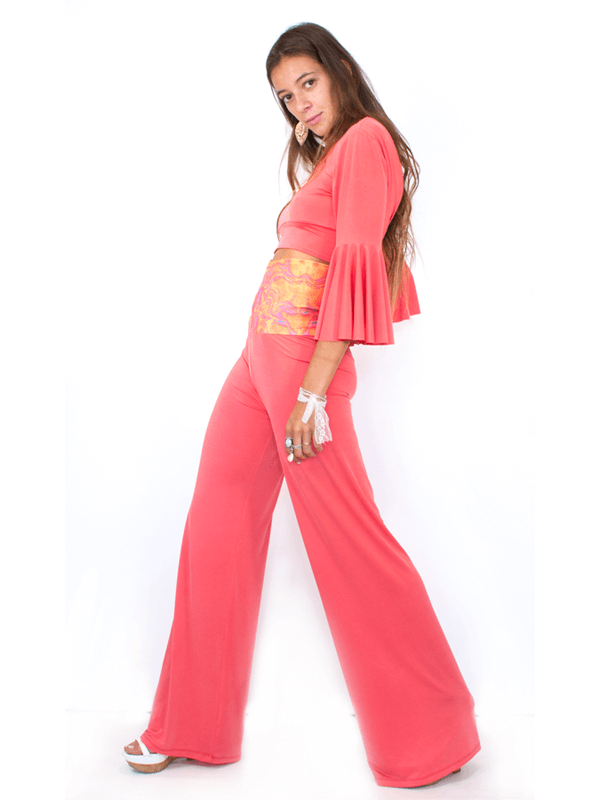 Kelly Pant in Coral