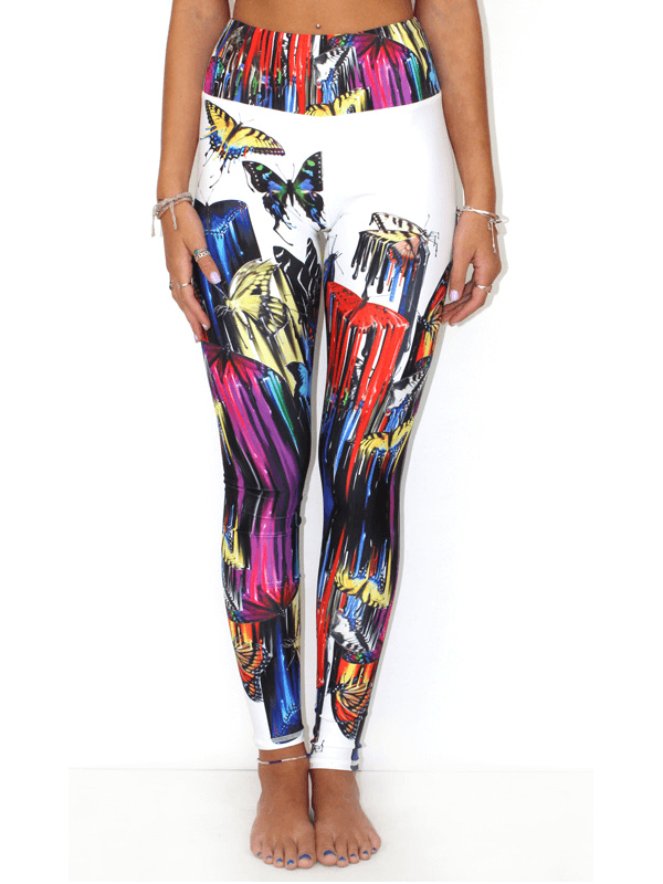Our Most Luxurious Legging in Butterfly