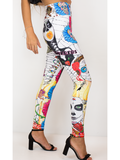 Our Most Luxurious Leggings in Sugar Skulls