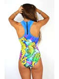 Sport One Piece in SeaHorse