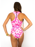 Sport One Piece in Flower Power