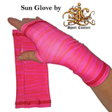 Sun Gloves in Pink Lemonade