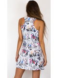 Tank Dress in Fashion Print