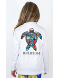 Youth JupLife 561 Turtle UPF 50+ Sun Protective Tee