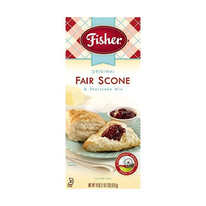 Fisher Original Fair Scone & Shortcake Mix, Pack of 3