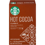 Starbucks Classic Hot Cocoa Mix, 1 Ounce Packet, 8 Count, Pack of 3