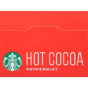 Starbucks Peppermint Hot Cocoa Mix, 1 Ounce Packet, 8 Count, Pack of 3