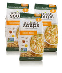 Canterbury Naturals Artisan Soup Mix, Non-GMO Chicken Noodle Soup, 7.5 Ounce, Pack of 3