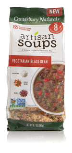 Canterbury Naturals Vegetarian Black Bean Artisan Soup Mix Pack of 3