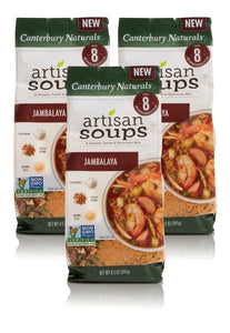 Canterbury Naturals Artisan Soup Mix, Non-GMO Jambalaya Soup, Pack of 3