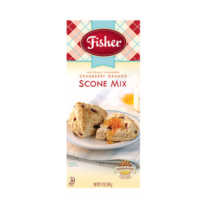 Fisher Cranberry Orange Scone Mix, Pack of 3