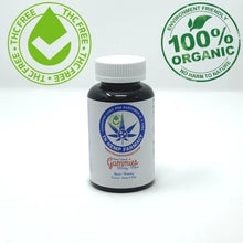 Load image into Gallery viewer, Bottle of 10mg CBD gummies that are THC free and organic.