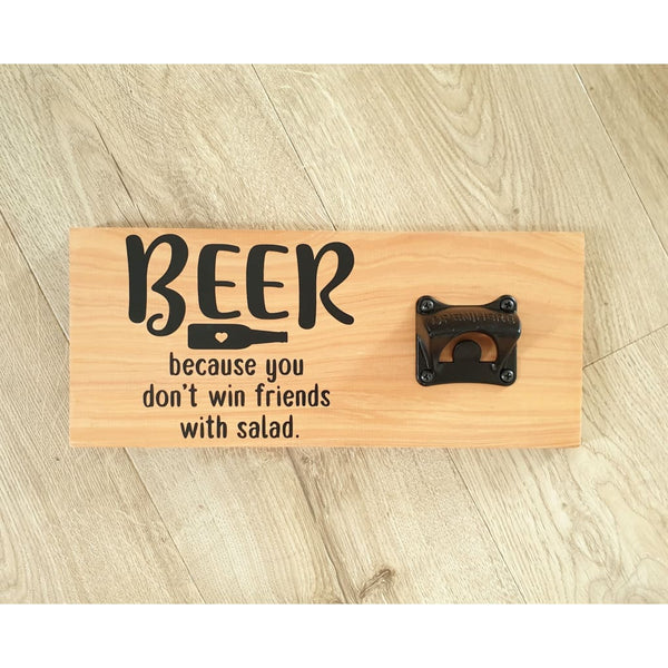 Beer win - Natural - Bottle Opener