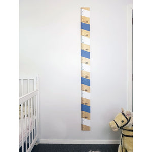 Candy Cane Wooden Height Chart - Height Chart