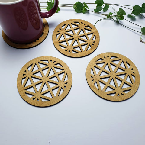 Coasters Geometric Triangle - Coaster