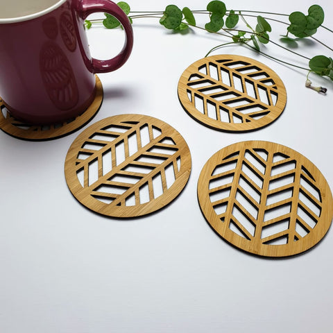 Coasters Herringbone - Coaster