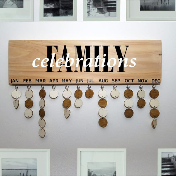 Family Birthday & Celebrations Boards - Family Celebrations - General Signs