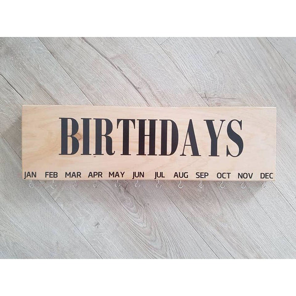 Family Birthday & Celebrations Boards - Birthdays Only - General Signs