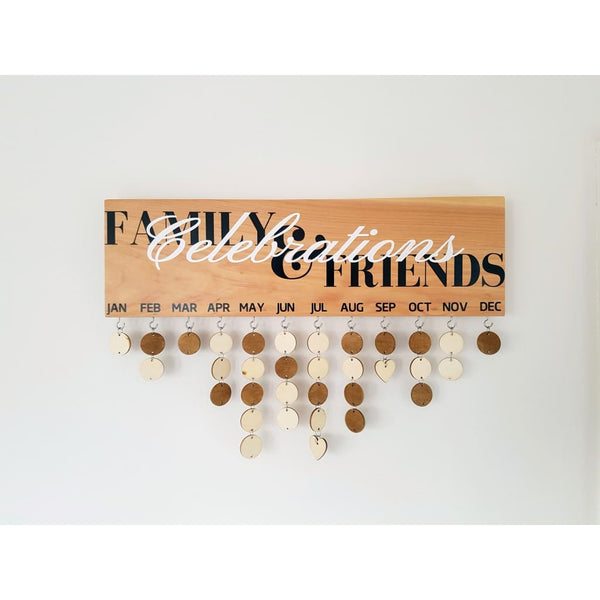 Family Birthday & Celebrations Boards - Family & Friends Celebrations - General Signs