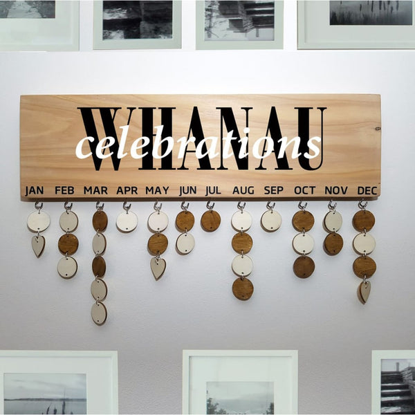 Family Birthday & Celebrations Boards - Whanau Celebrations - General Signs