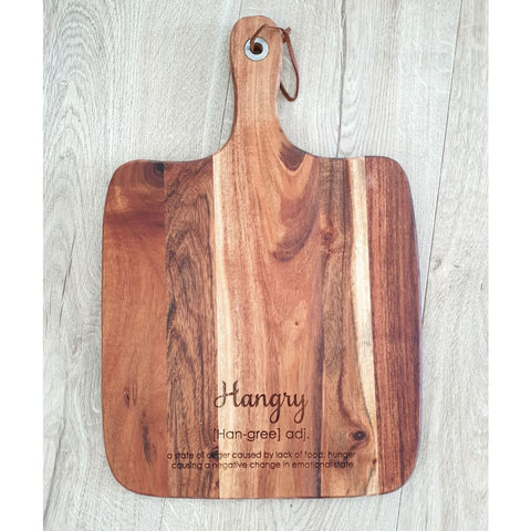 Hangry cheese / chopping board. - Cheese Boards