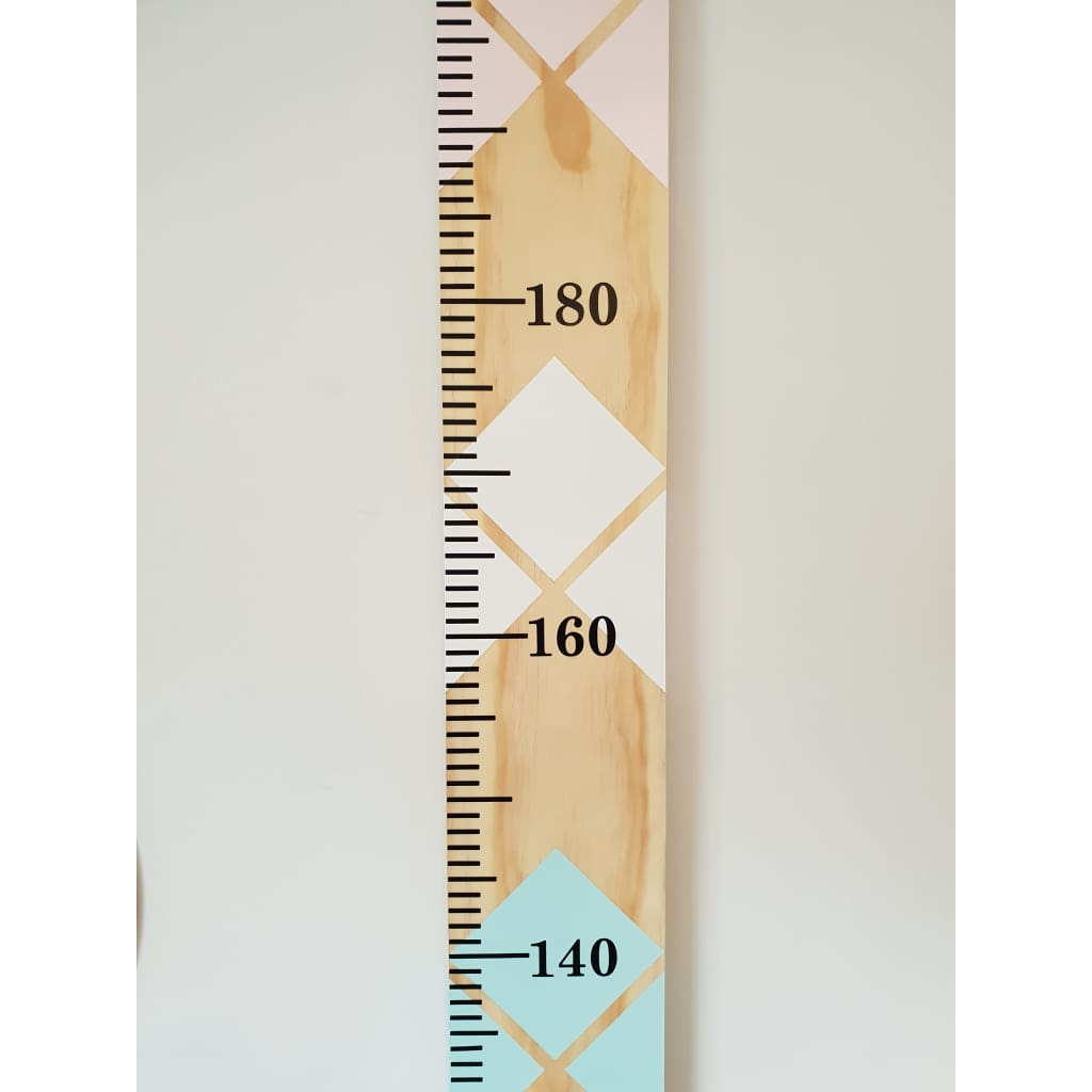 Jewel Childrens Wooden Growth Ruler