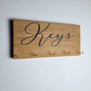 Keys Oak - Key Holder