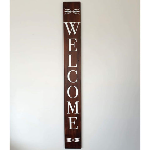 Macrocarpa Welcome Sign