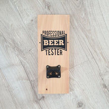 Professional Beer Tester Bottle opener Macrocarpa - Natural - Bottle Opener