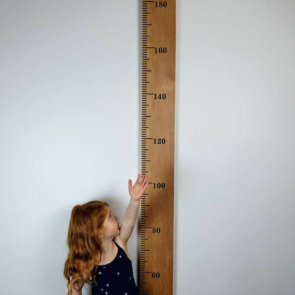 Rimu Wooden Height Chart - Height Chart