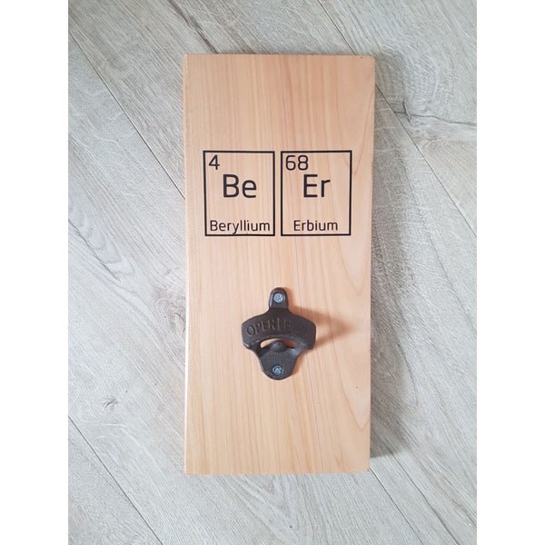 Science of Beer Bottle Opener Macrocarpa - Bottle Opener