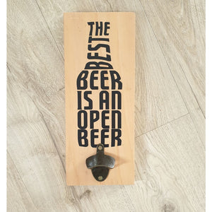 The Best Beer Bottle Opener Macrocarpa - Natural - Bottle Opener
