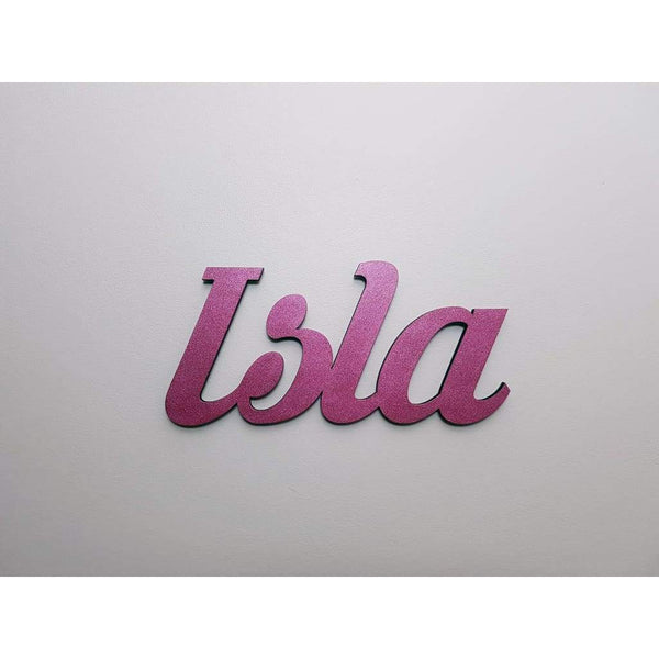 Wall Name Plaque Free Personalisation - Laser Cut Name Plaque