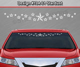 "Design #104-01 Stardust - Windshield Window Vinyl Decal Sticker Graphic Banner 36""x4.25""+"
