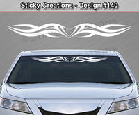 "Design #140 - 36""x4.25"" + Windshield Window Tribal Accent Vinyl Sticker Decal Graphic Banner"