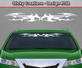 "Design #159 Windshield Window Tribal Thorns Vinyl Sticker Decal Graphic Banner 36""x4.25"""