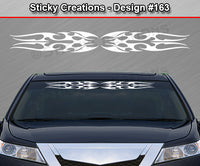 "Design #163 - 36""x4.25"" + Windshield Window Tribal Blade Vinyl Sticker Decal Graphic Banner"